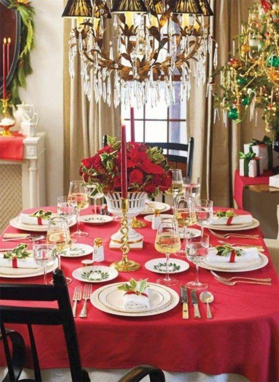 decorar-mesa-centro-navidad-17 | navidad | pinterest | decorando