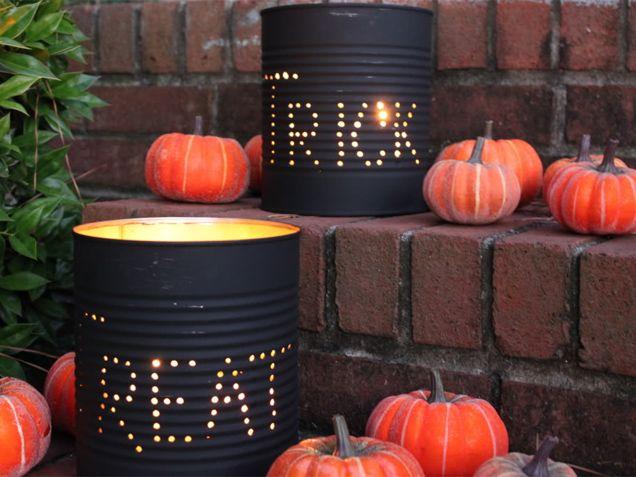 9 Chic DIY Outdoor Halloween Decorations Halloween Pinterest
