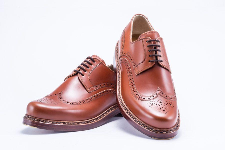 8646af379c4 Oliver Grey. Bence 94412 Cognac Full Brogue.   Shoes & Boots fine ...