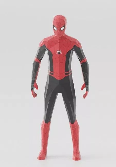 Spiderman Far From Home Paper Craft Mypapercraft Net Spiderman Paper Crafts Spiderman Movie