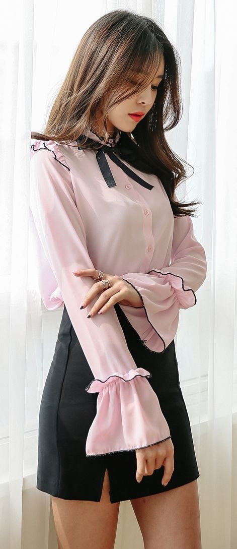 6c4b78d3826e S/S Korean Women Fashion Look | Classy Fashion and Style | Korean ...
