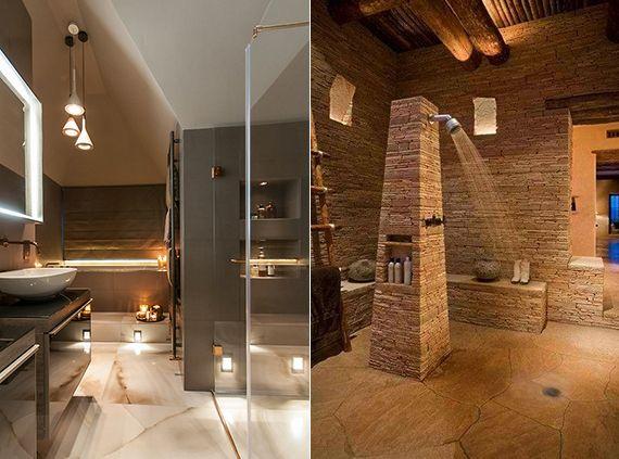 Bad modern gestalten mit Licht | Lichtkonzept, Badezimmer ...