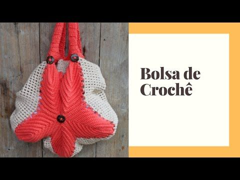 Bolsa de Crochê – fio círculo – como fazer – APRENDA COMIGO