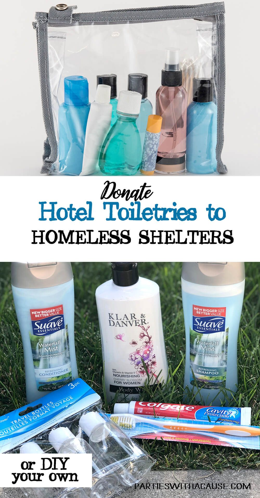 Add A Hygiene Kit To That Blessing Bag For The Homeless This Giving Season And All Year Round Co Hotel Toiletries Travel Size Toiletries Travel Size Products
