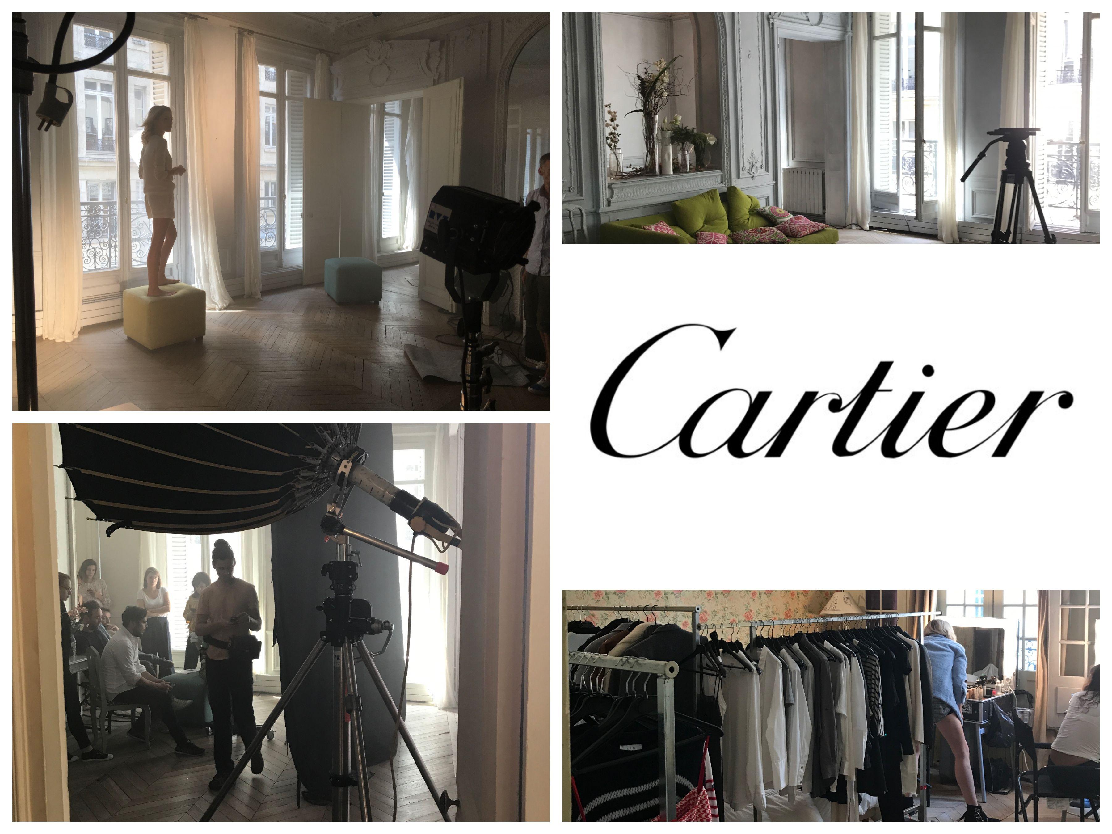 IC - Shooting Cartier - directors Benjamin & Romain