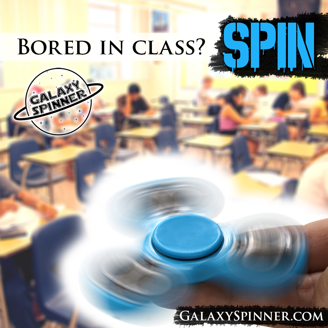 If you\'re bored or anxious in class, spin that energy away with our ...
