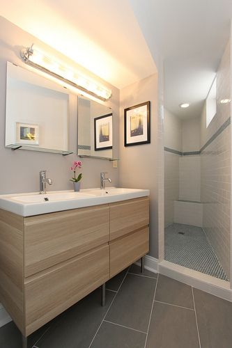 Pin by Andrea Swei on Bathrooms Pinterest Basements, Storage and
