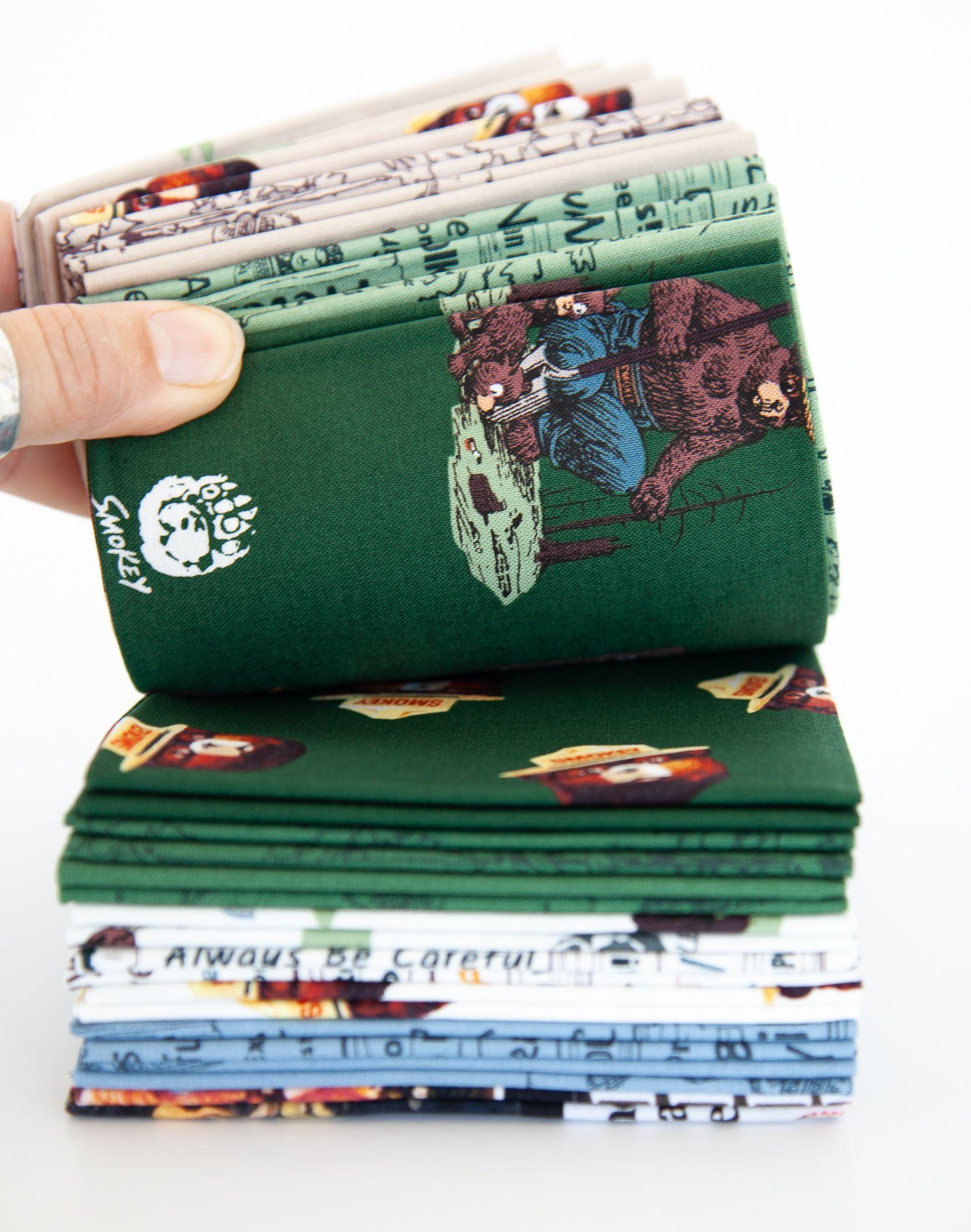 Smokey Bear Panel Quilt Free Pattern Riley Blake Designs In 2021 Bear Quilts Riley Blake Designs Camping Quilt