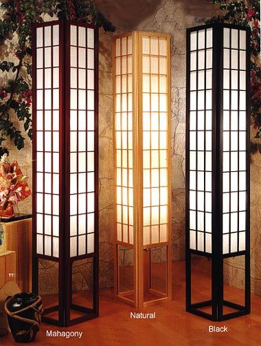 The Grand Emperor Floor Lamp Japanese Style Bedroom Asian Home
