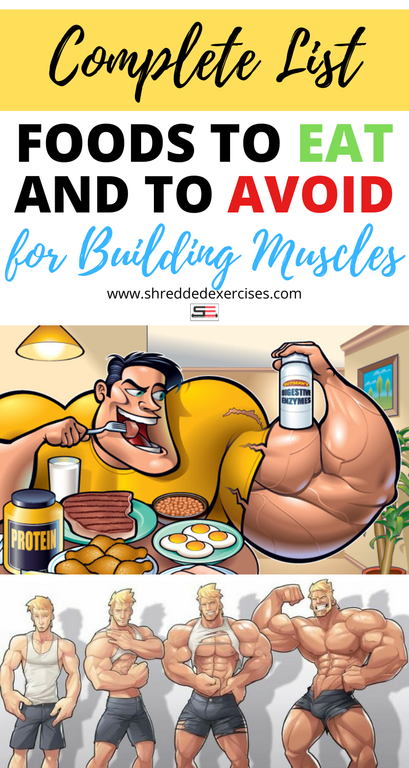 Top 10 HighProtein Foods and 10 Foods To Avoid for Muscle