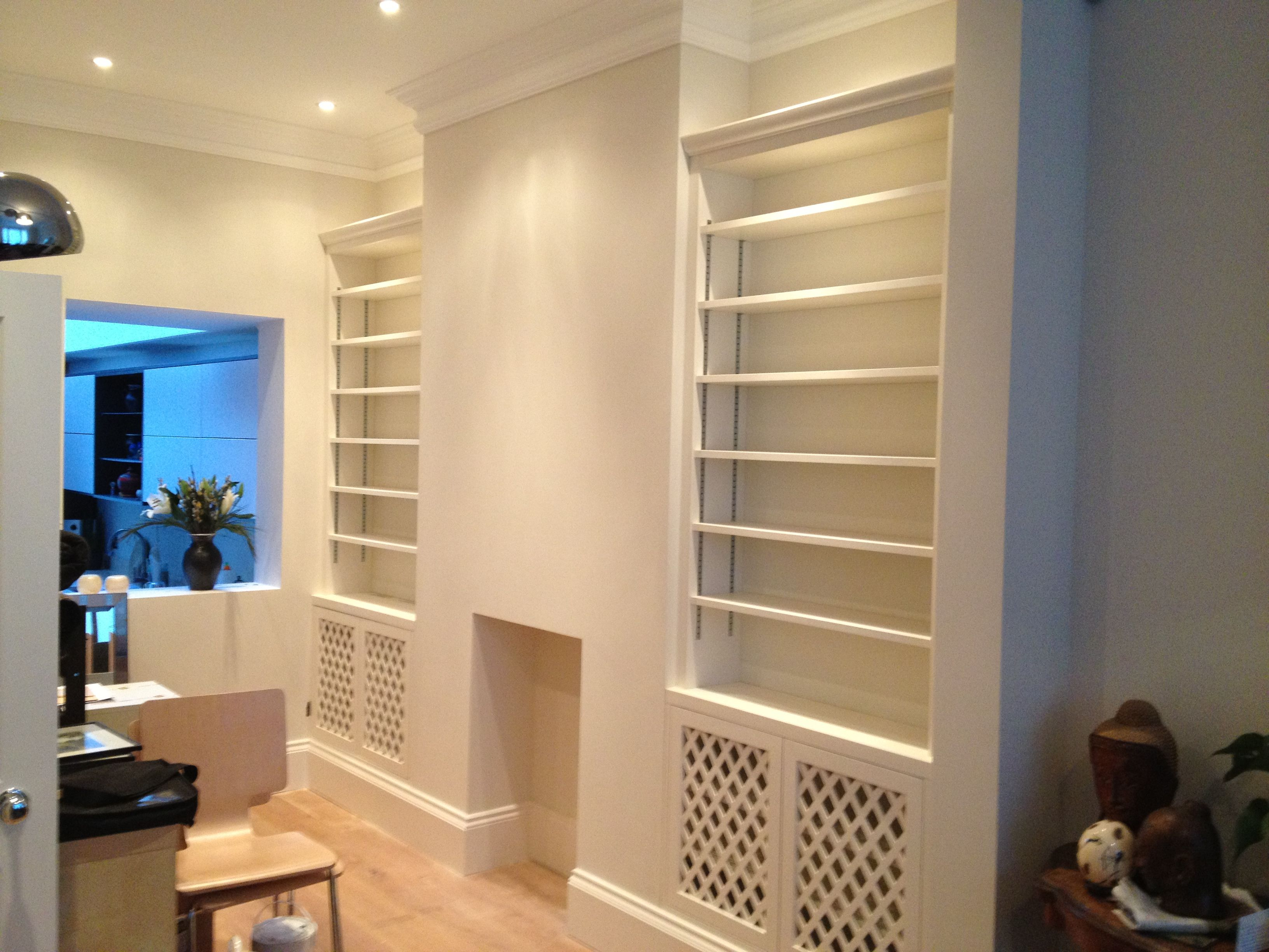 Alcove Cupboards And Shelving Units Installed This Week In