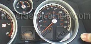 reset service light indicator opel corsa d – reset service light