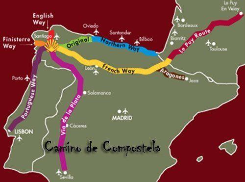 El Camino De Santiago The Way Of St James Plan To Take The