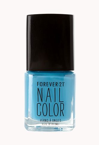 Baby Blue Nail Polish | FOREVER21 - 1000090657  perfect for baby shower
