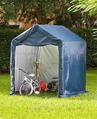 Fantastic Canopy Storage Shed Outdoor Garden Yard Portable Garage Interior Design Ideas Skatsoteloinfo