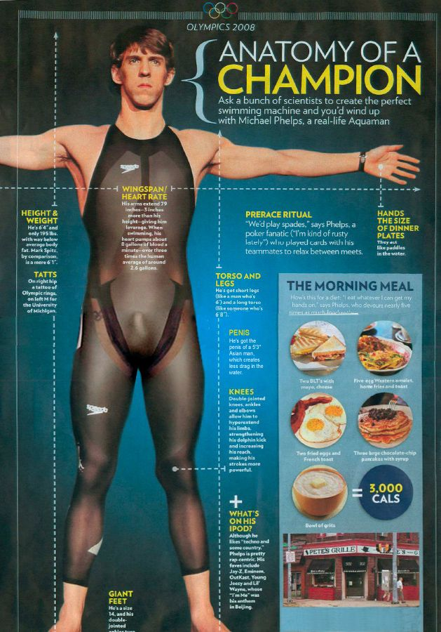 Michael Phelps Anatomy Of A Champion 2008 Michael Phelps