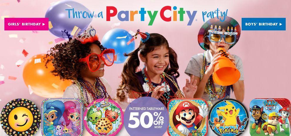 Party City Birthday Supplies Fresh Birthday Party Supplies For Kids Adults Party City Canada