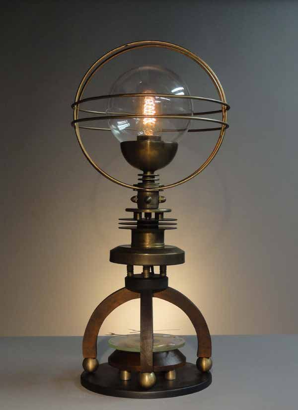 this cosmo steampunk lamp is AWESOME