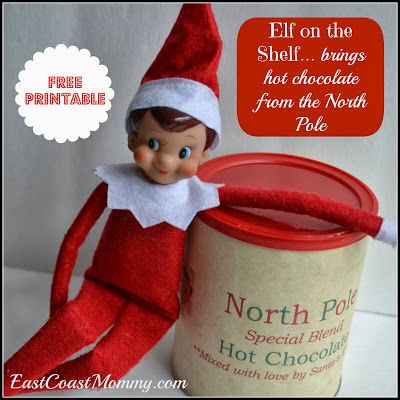 Elf On The Shelf North Pole Hot Chocolate With Images Elf On