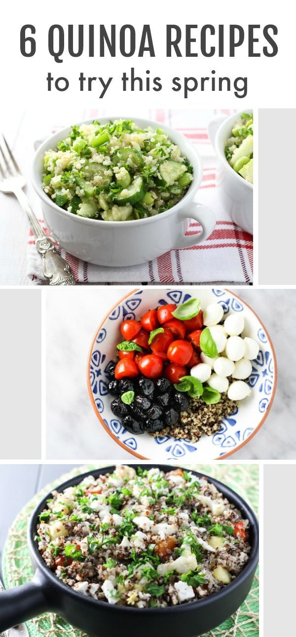 6 Quinoa Recipes to Try This Spring images