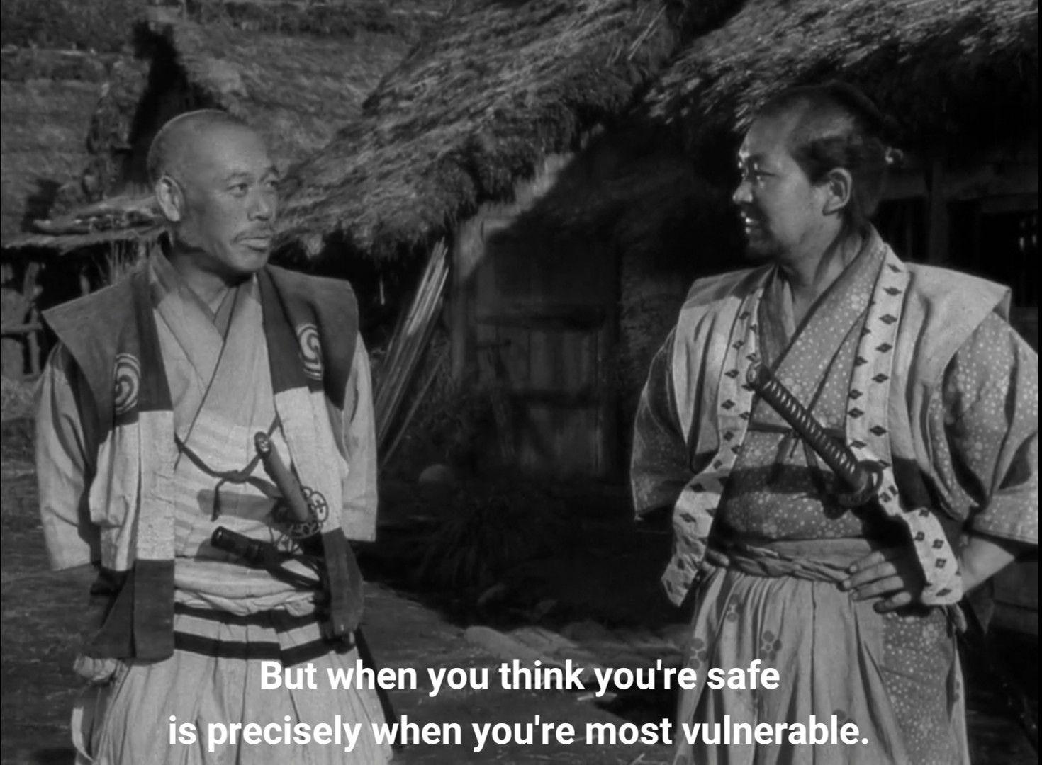 Seven Samurai In 2020 Japanese Film Samurai Film Lovers