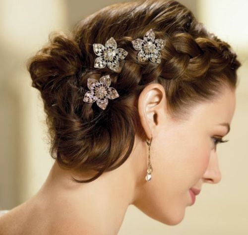 Fine 1000 Images About Braided Updos On Pinterest Easy Formal Hairstyles For Women Draintrainus