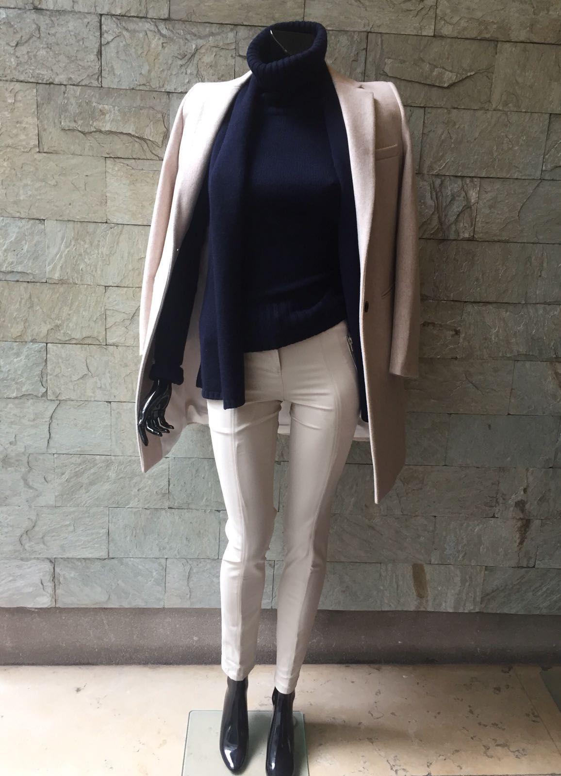 Pull femme col roulé oversize en laine et cachemire. Grand classique pour  les saisons fraîches 2f82112bd4d