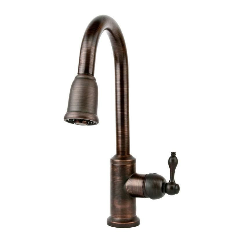 Delta Oil Rubbed Bronze Kitchen Faucet February Trinsic Champagne Pull Lowes