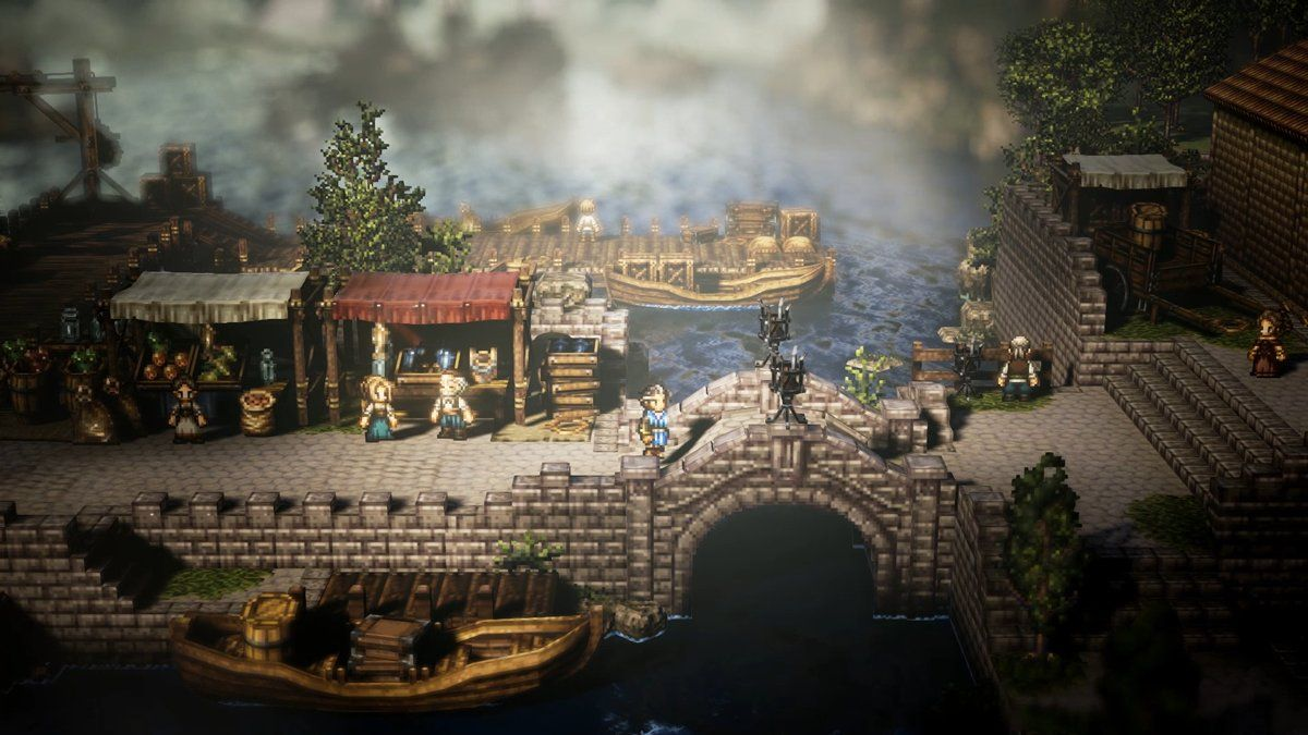 square enix announces project octopath traveler for switch by