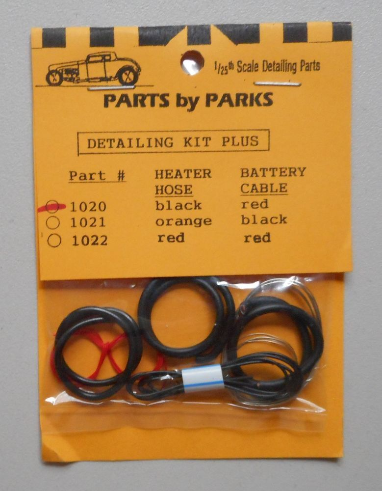 Radiator Heater Hose Cable 1 24 1 25 Part By Parks Car Model Accessory 1020 Radiator Heater Car Model Heater