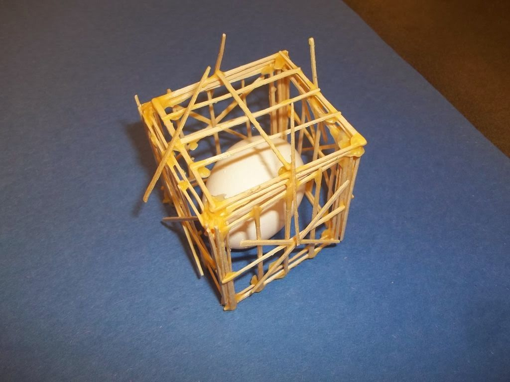 egg drop project with straws and rubber bands only - google search