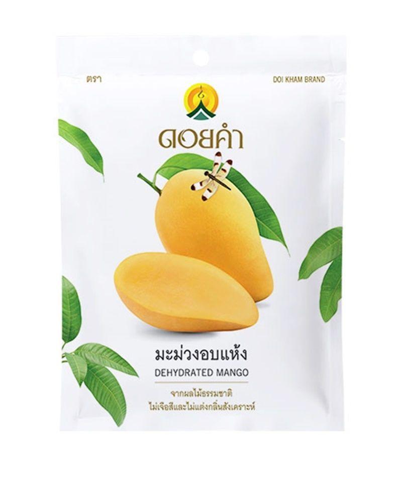 Doi Kham Dehydrated Fruit Mango Thai Organic Natural Fruit