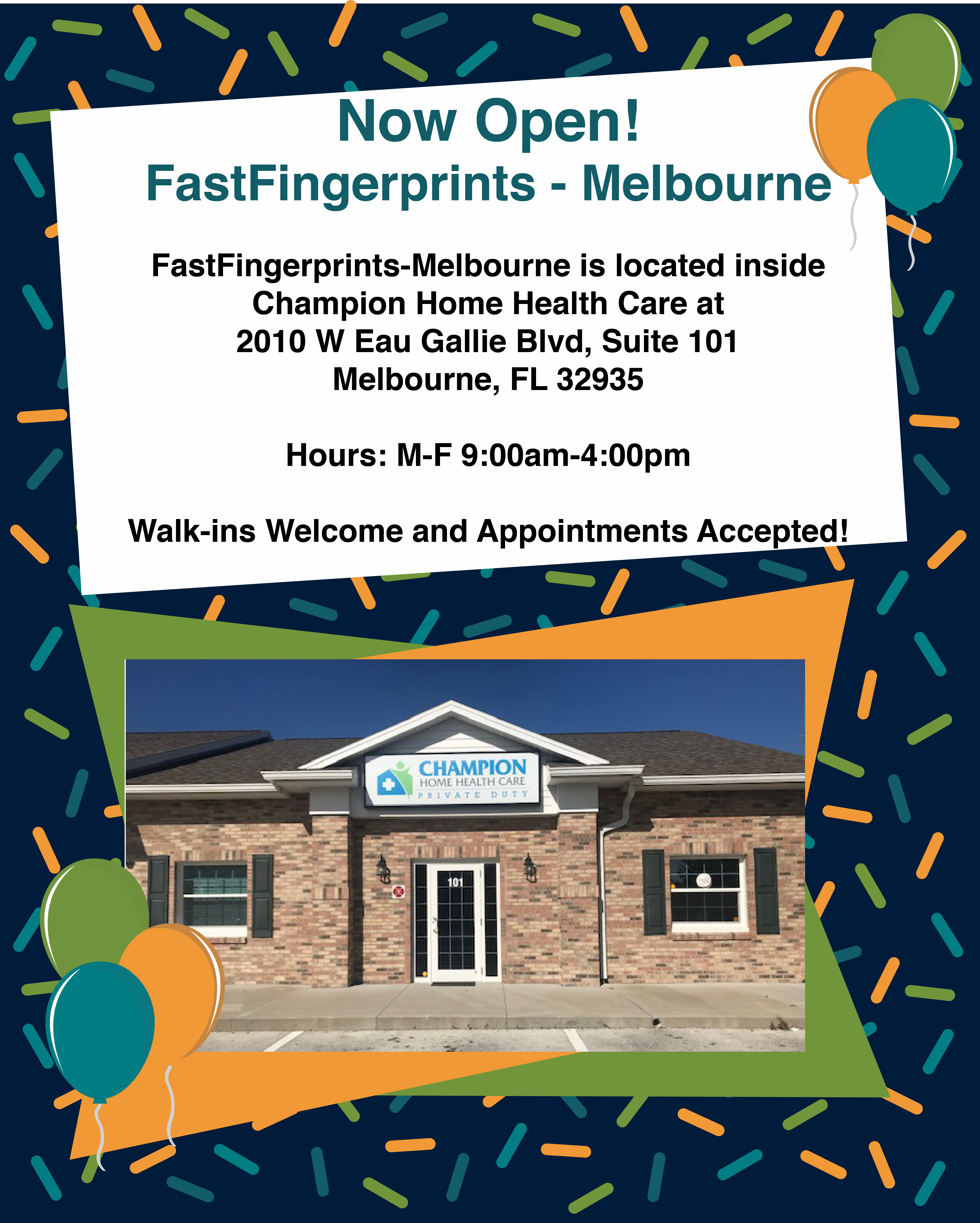Grand Opening Melbourne Fl Background Check Home Health Care Background