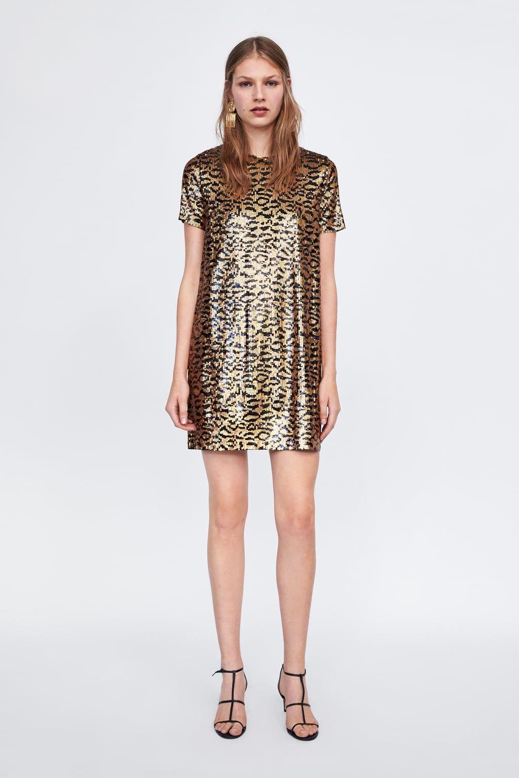 db051bbfb3 Animal print sequin dress | Bodacious Bridesmaids | Sequin dress ...