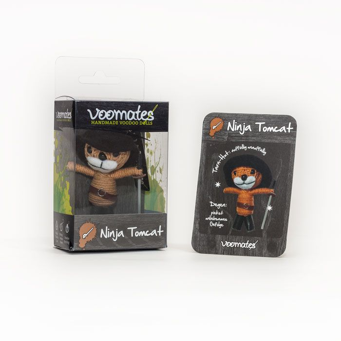 Voomates Packaging and Trading Card - Voodoo String Doll