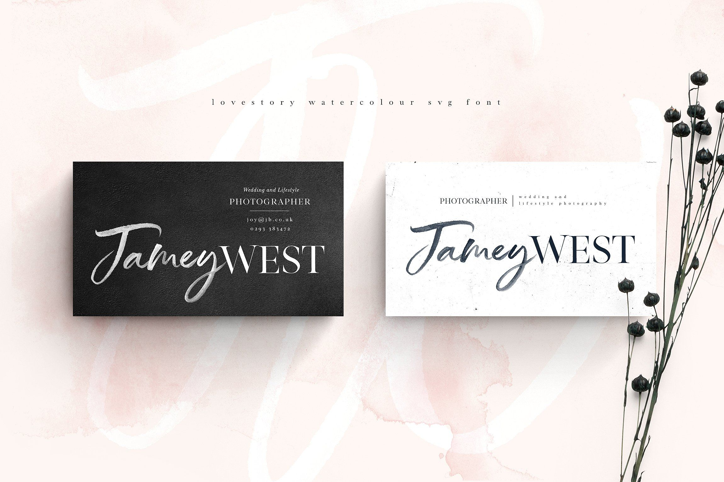 The Lovestory Font Collection Converting Hand Design Fonts