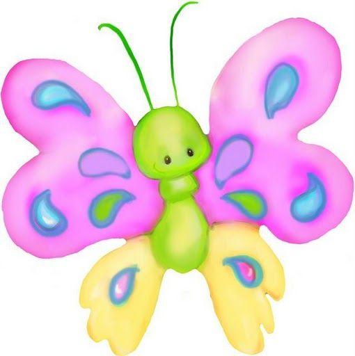 Pin By Yasmin Moreno On Dibujos Infantiles Baby Clip Art Clip Art Butterfly Clip Art