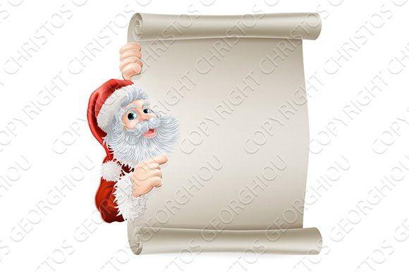 Santa Christmas Poster Best Textures  Best Textures