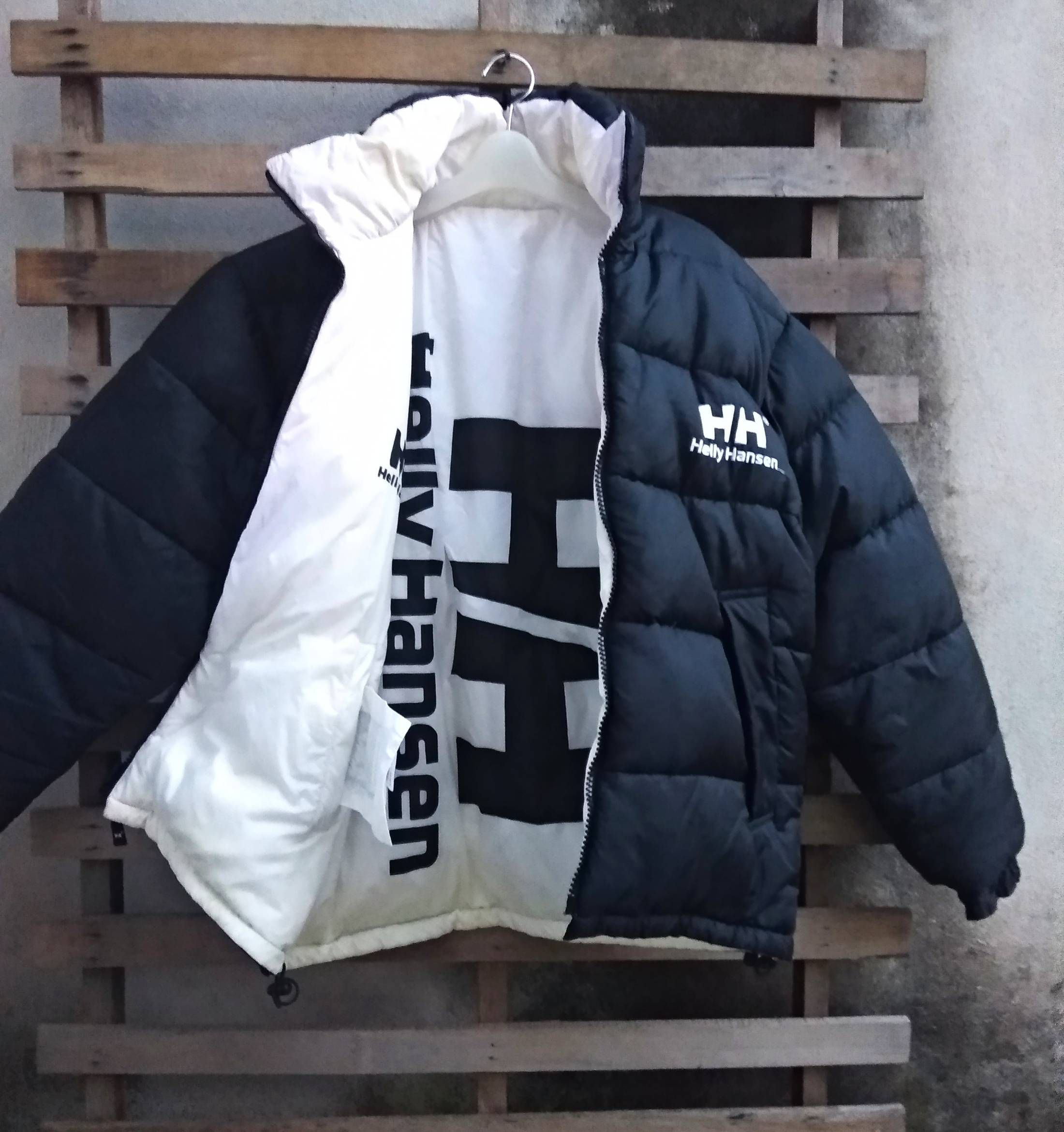 ff67ae83a2f6 Helly Hansen Helly hansen puffer down jacket reversible big logo x japan  made very good condition gucci versace fendi tommy kappa the north face Size  US M ...