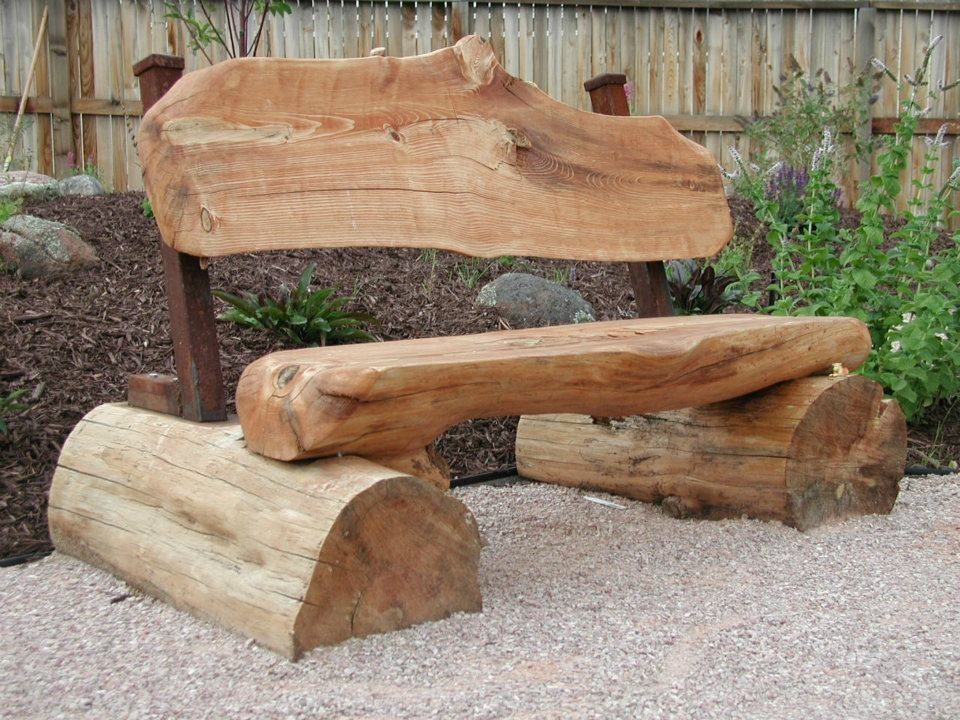 Cool Log Bench Got The Idea From Cabelas Kansas City Rustic Ocoug Best Dining Table And Chair Ideas Images Ocougorg