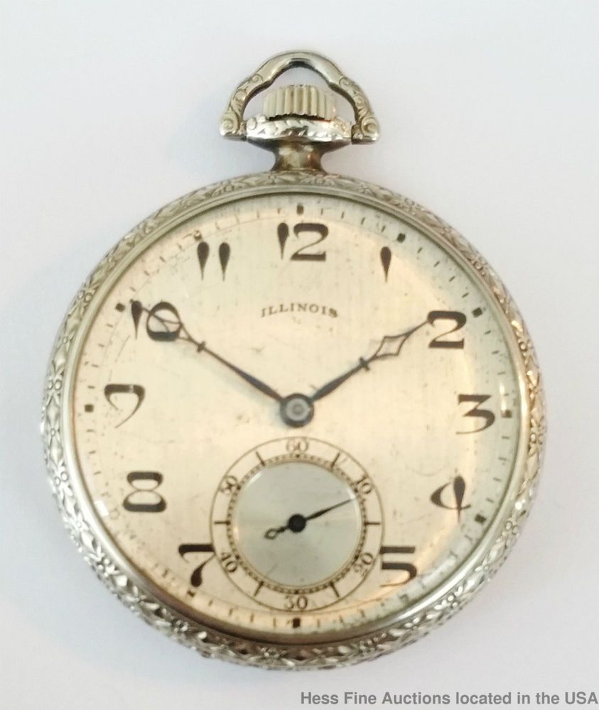 Antique strong running illinois time king art deco 17j mens pocket antique strong running illinois time king art deco 17j mens pocket watch watch faces aloadofball Gallery