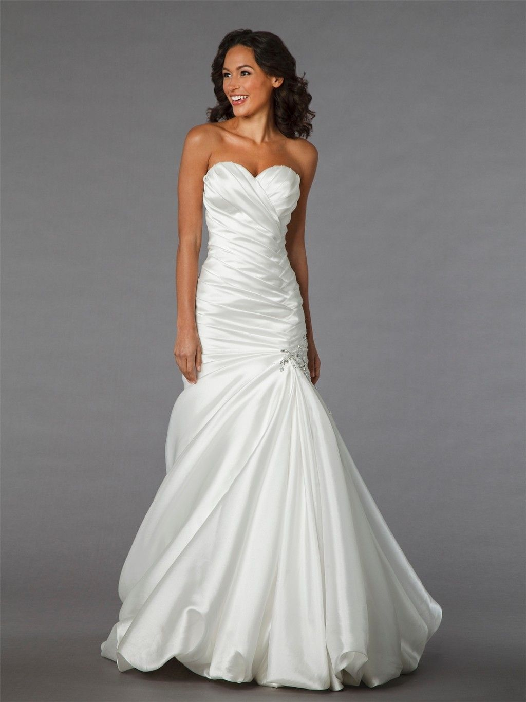 Wedding dresses kleinfeld  Bridal Mermaid Wedding Dress  Wedding Dresses  Pinterest  Mermaid