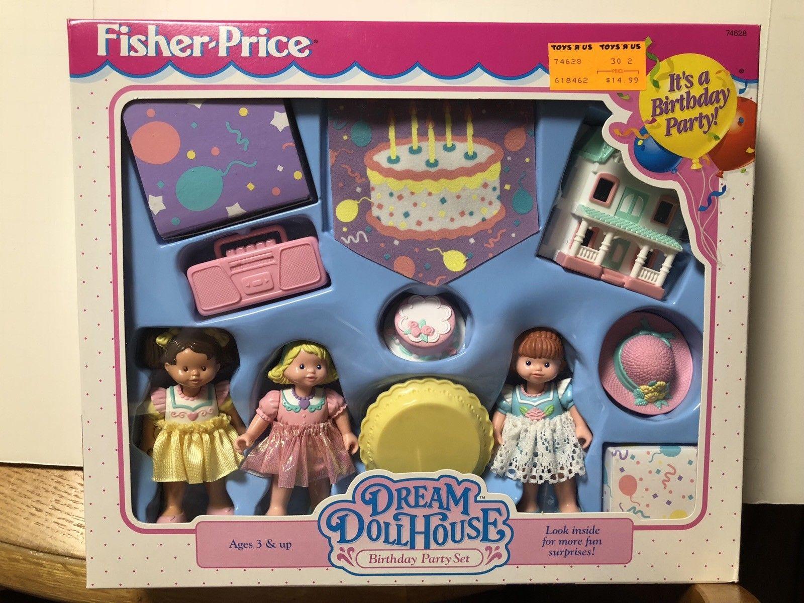 Vintage Fisher Price Loving Family Dream Dollhouse Furniture