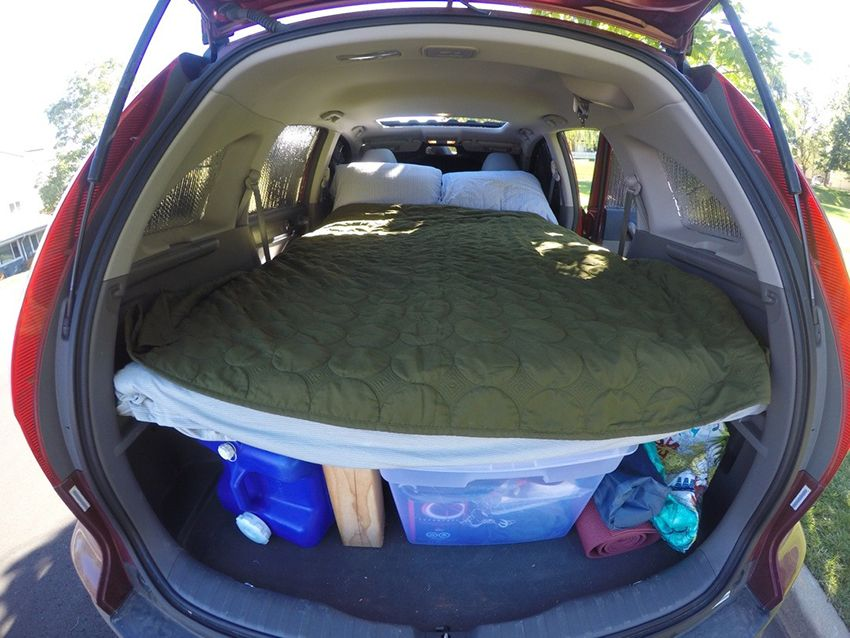 How To Turn Your Suv Into A Camper Backpacking Suv