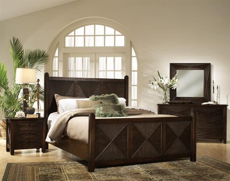 Ocean View Wicker Bedroom Suite By South Sea Rattan. Bedroom Furniture ...