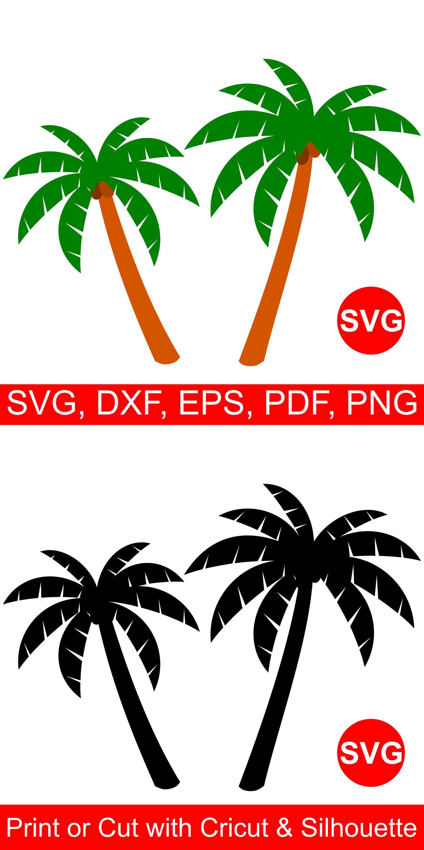 Palm Tree SVG files for Cricut & Silhouette Tree svg