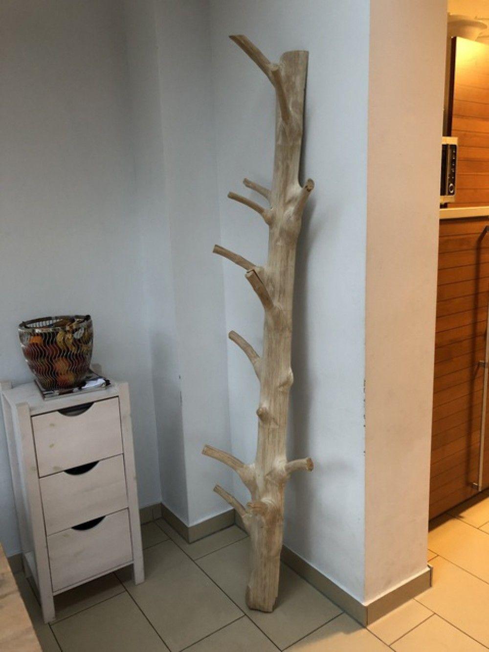 Wandgarderobe Aus Holz Unikat Standgarderobe Aus Massivholz Hohe