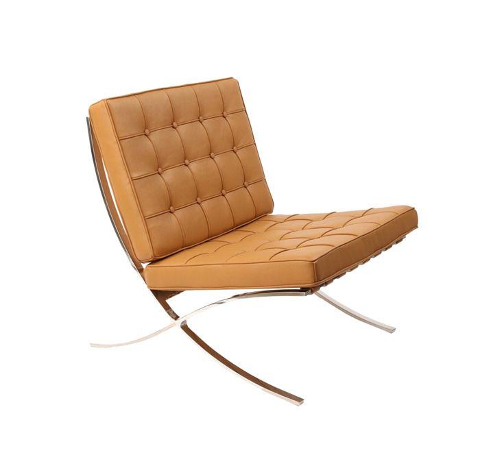 Barcelona Chair In Stainless Steel Sessel Barcelona Stuhl Stuhle
