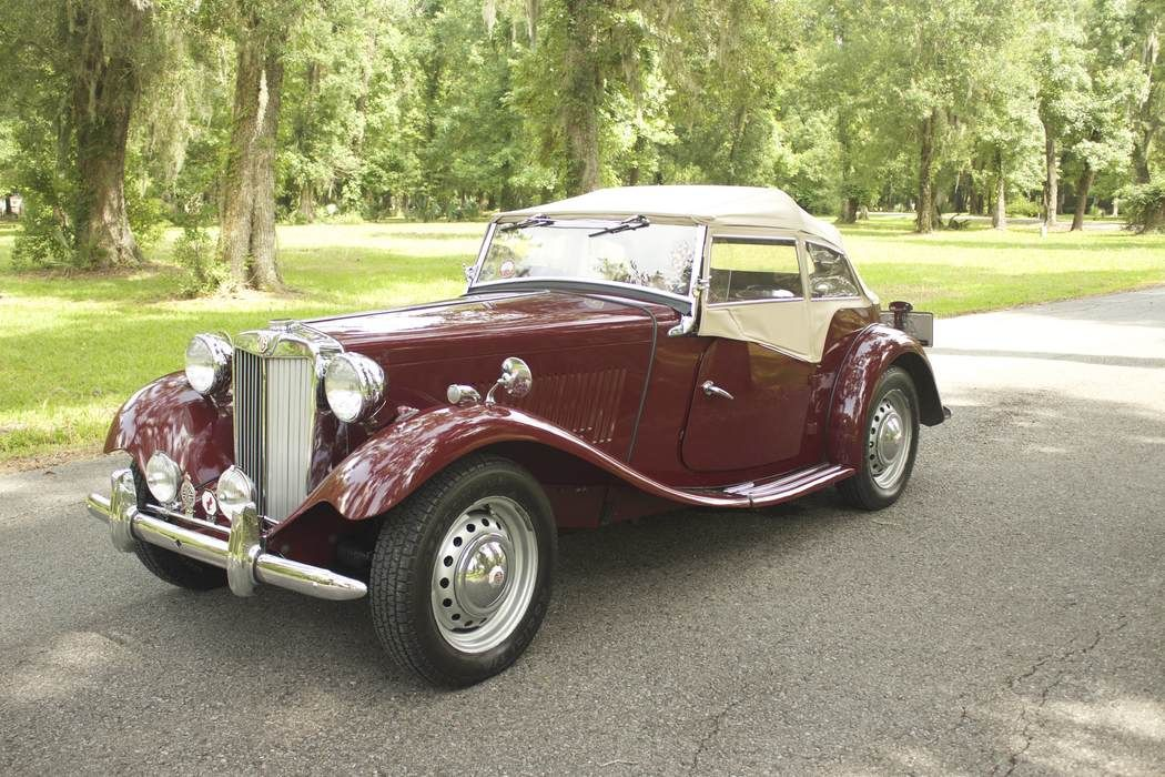 1952 MG TD | Old Rides 5 | Pinterest | Collector cars, Vehicle and ...