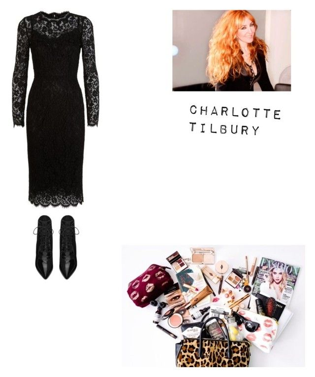 """Charlotte Tilbury"" by billie-ann-richardson on Polyvore featuring mode, Charlotte Tilbury, Dolce&Gabbana, Yves Saint Laurent et Charlottetilbury"